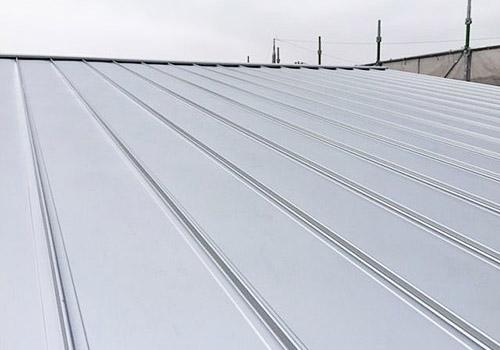 屋根(軽量ガルバリウム鋼板)