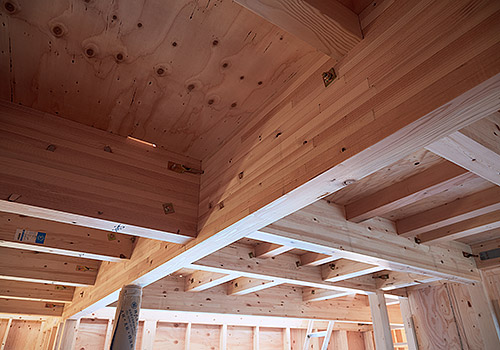 高耐震ハイブリッド木造軸組工法
