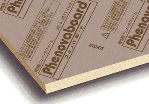 高性能フェノールフォーム保温板(フェノバボード)