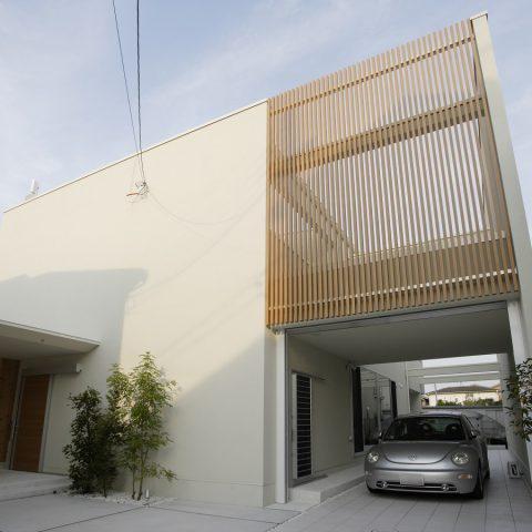 SE構法が可能にした無柱大空間と大きな吹抜けのある家