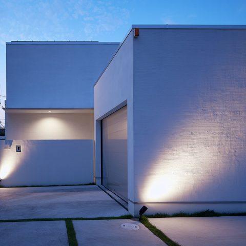 中庭を囲むロの字型の家Ⅰ