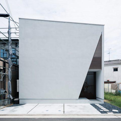 三角格子の家